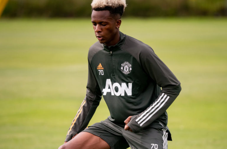 Manchester United U18 Training Session