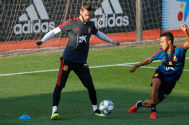 Spain Training Session