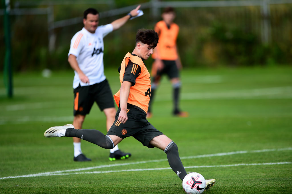 Manchester United U18 & U23 Training Session