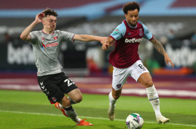 West Ham United v Charlton Athletic - Carabao Cup Second Round