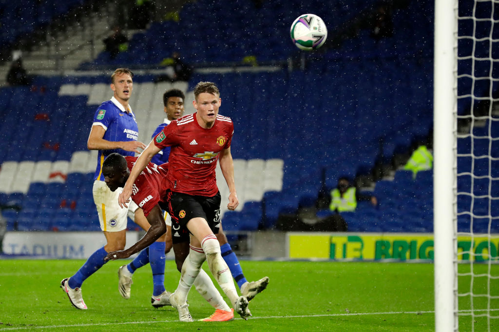 Brighton And Hove Albion v Manchester United - Carabao Cup Fourth Round