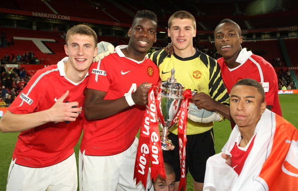 Manchester United v Sheffield United - FA Youth Cup Final 2nd Leg