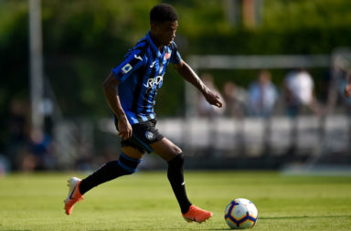 Amad Traore of Atalanta BC in action during pre-season