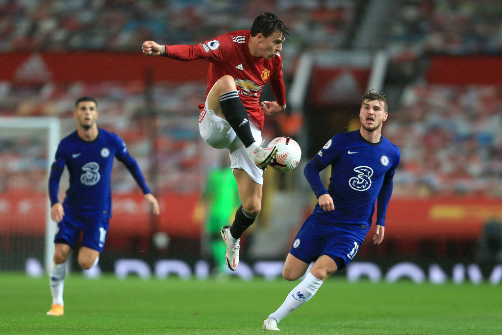 Maguire and Lindelof share the same view on United's draw with Chelsea