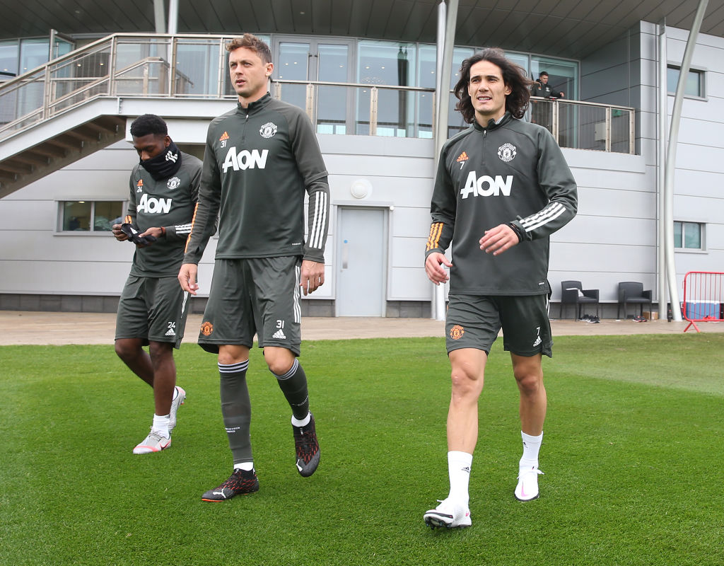 edinson cavani pictured training with manchester united for first time united in focus https www unitedinfocus com news edinson cavani pictured training with manchester united for first time