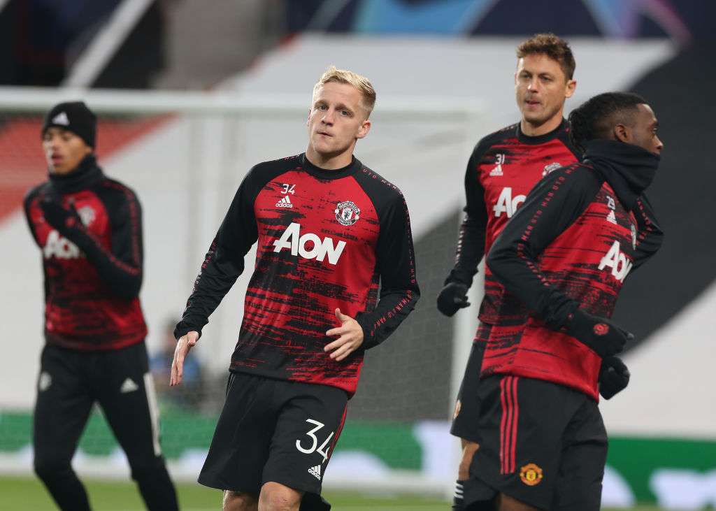 Early Predicted Line Up For Manchester United V West Brom United In Focus