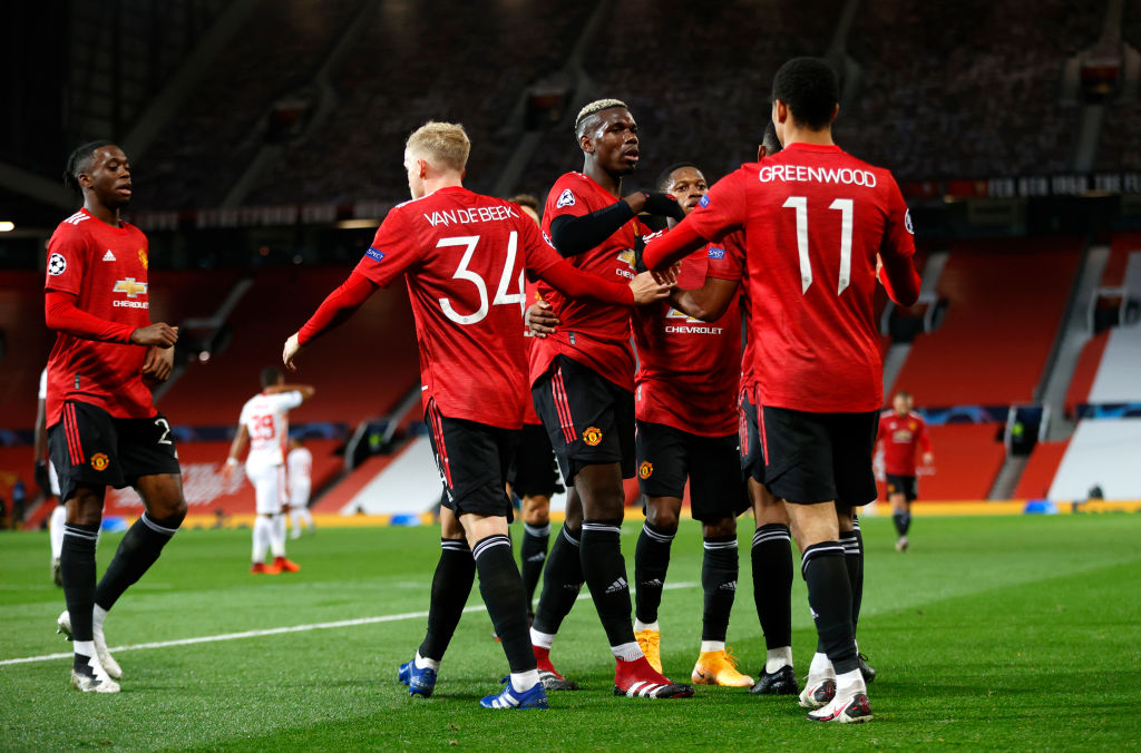 Manchester Uniteds four best players against PSG - United