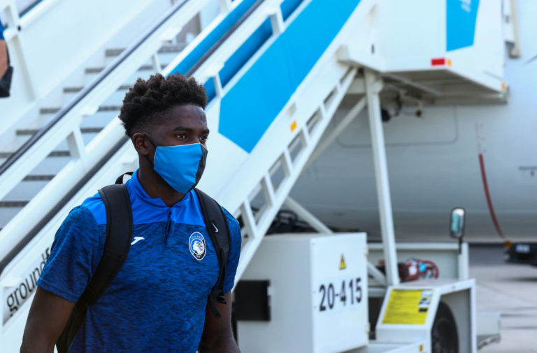 Atalanta Arrive in Lisbon for the Champions League Quarter Finals
