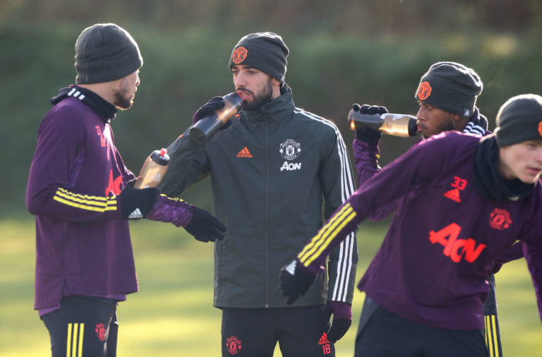 Manchester United - Press Conference And Training Session