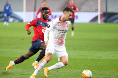 LOSC Lille v AC Milan: Group H - UEFA Europa League