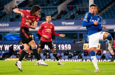 Everton v Manchester United - Carabao Cup Quarter Final