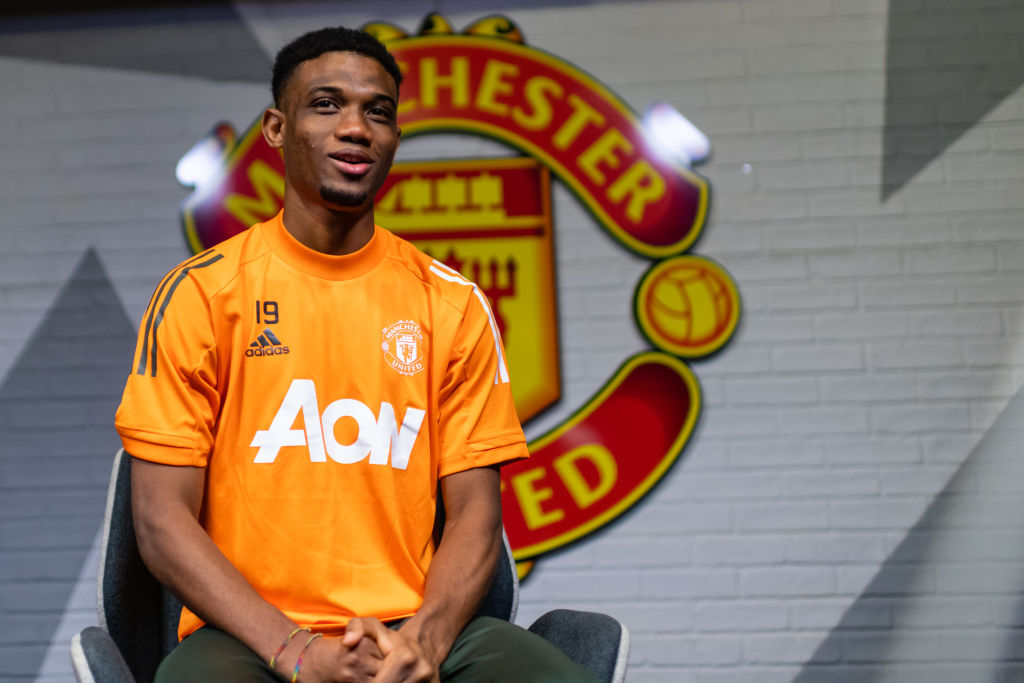 Amad Diallo officially unveiled as Manchester United player
