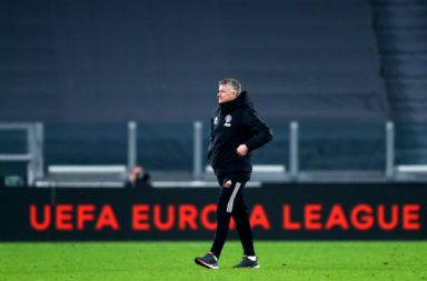Ole Gunnar Solskjaer, head coach  of Manchester United Fc ,