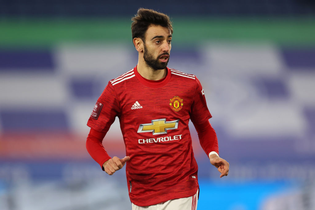Bruno Fernandes has already flown back to Manchester - United In Focus