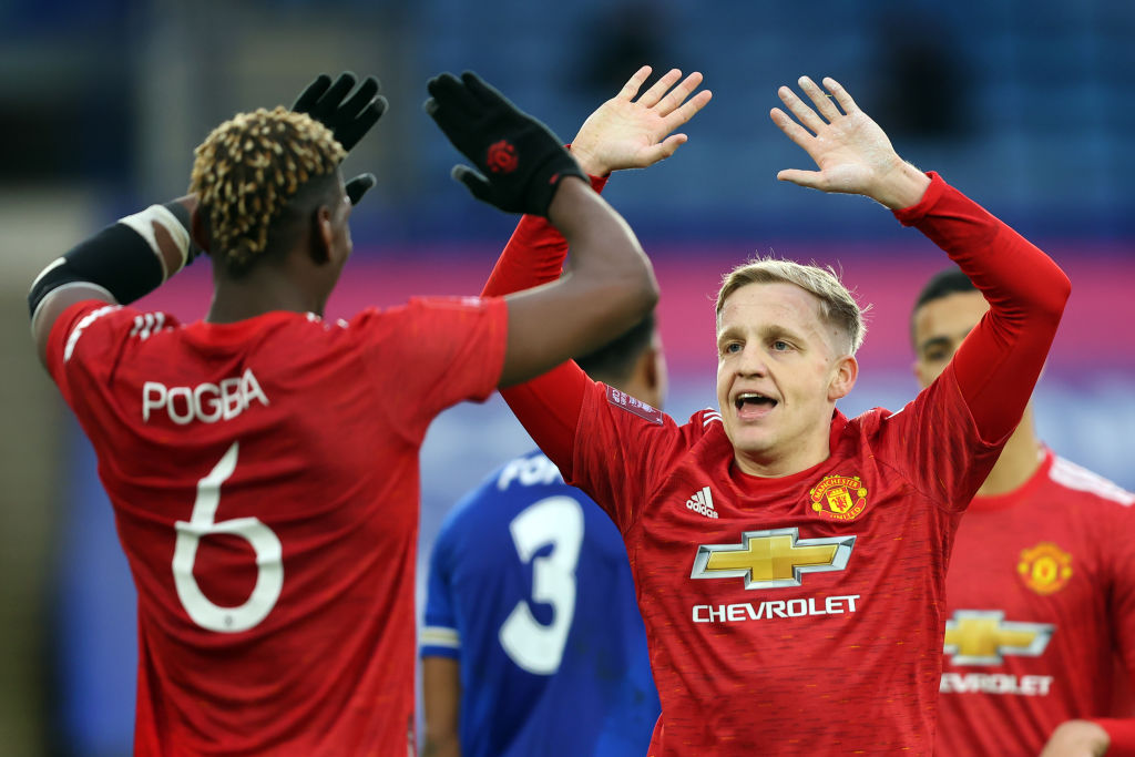 Leicester City v Manchester United: Emirates FA Cup Quarter Final
