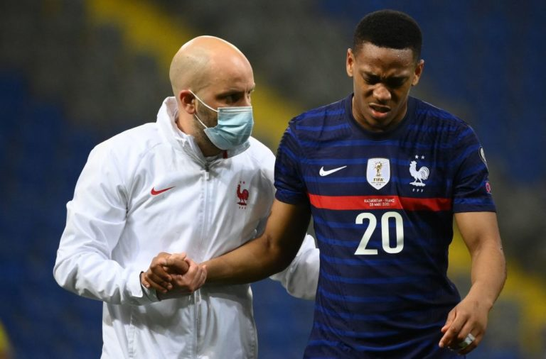 Anthony Martial an injury doubt for Manchester United's Europa League clash - United In Focus