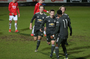 Salford City v Manchester United: FA Youth Cup