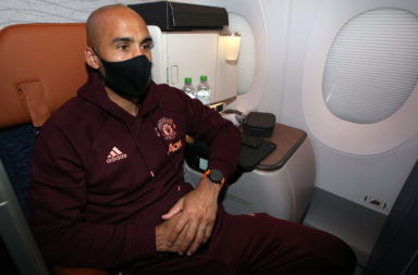 Manchester United Travel To Milan For UEFA Europa League Match