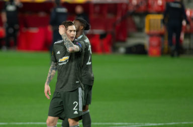 Granada CF v Manchester United - UEFA Europa League Quarter Final: Leg One