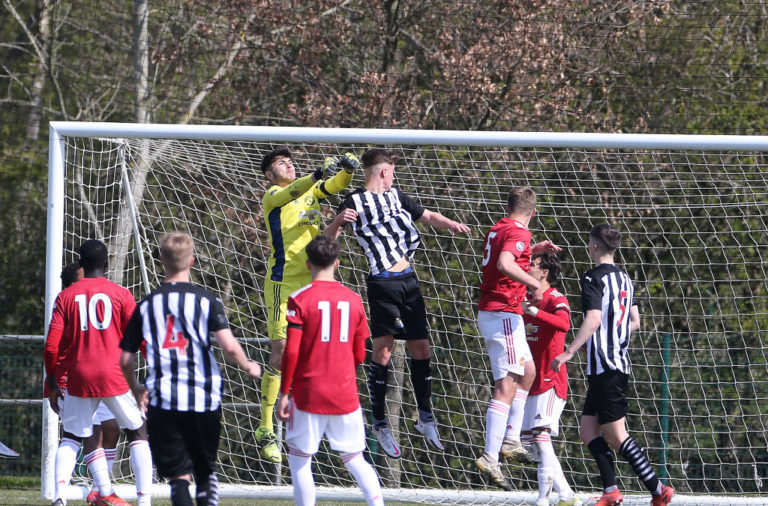 Newcastle United v Manchester United: U18 Premier League