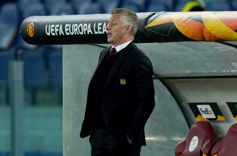 AS Roma v Manchester United - UEFA Europa League