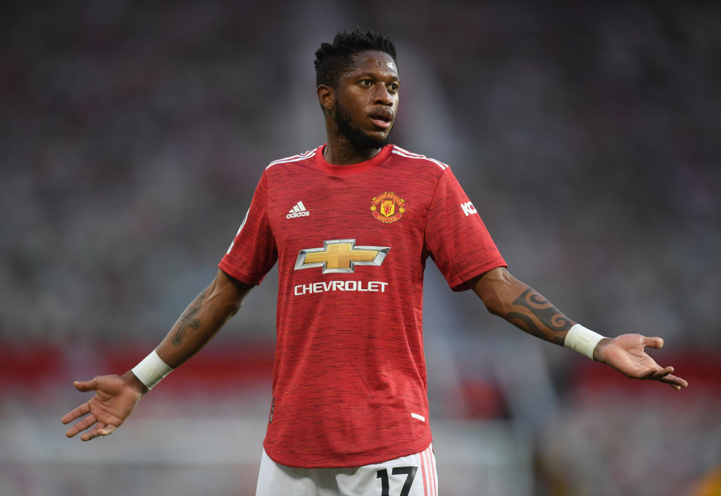Against Ecuador on Saturday Fred was substituted after 62 minutes after picking up a first half booking.