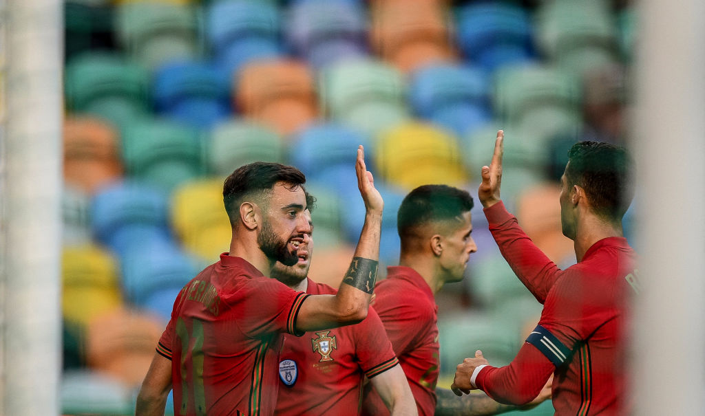 Portugal won the game 4-0 in the end with Fernandes netting a fantastic goal in injury time from outside the box which rocketed into the top corner.