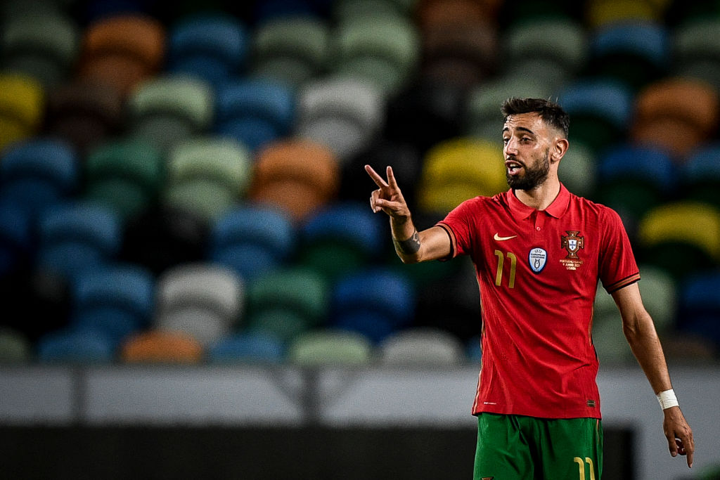 Fernandes' first game of Euro 2020 is against Hungary
