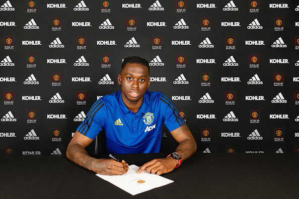 Manchester United Unveil New Signing Aaron Wan-Bissaka