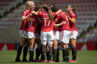 Manchester United v Leicester City - Vitality Women's FA Cup 5th Round
