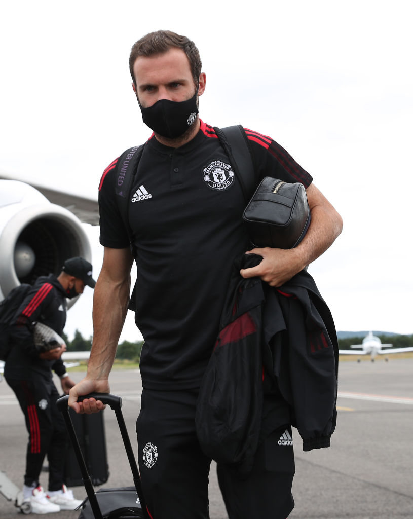 Manchester United Players Arrive in Scotland for a Pre-Season Training Camp