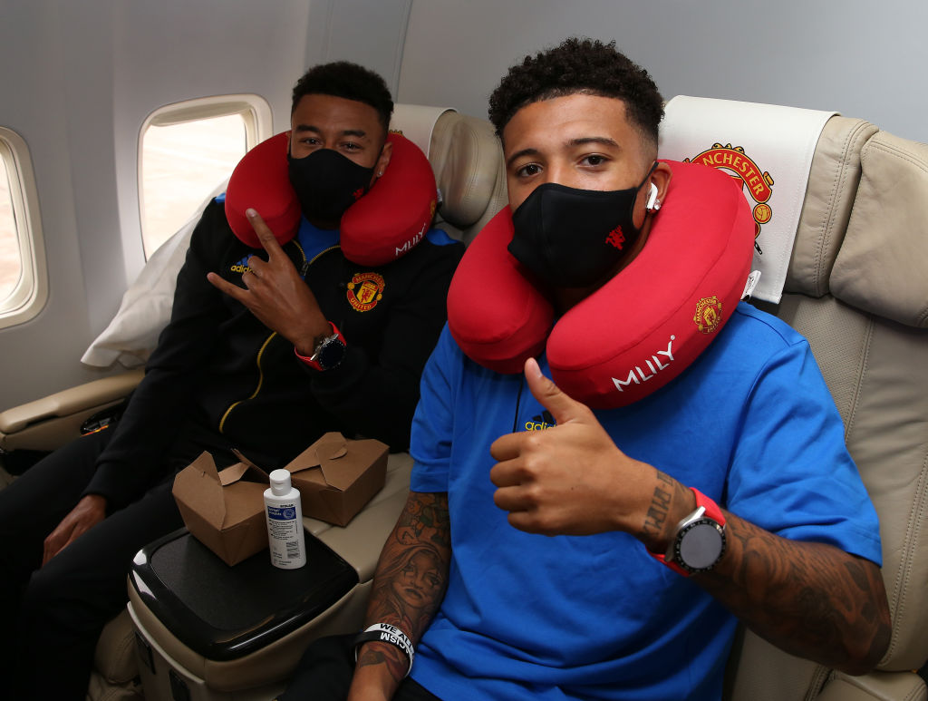 Manchester United Travel to Bern for the UEFA Champions League